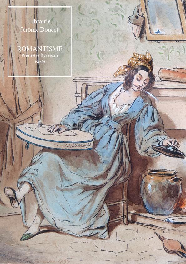 Romantisme — Première livraison — Varia